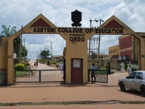 ACEONDO Direct Entry Admission Lists for 2018/2019 Academic Session  Adeyem30