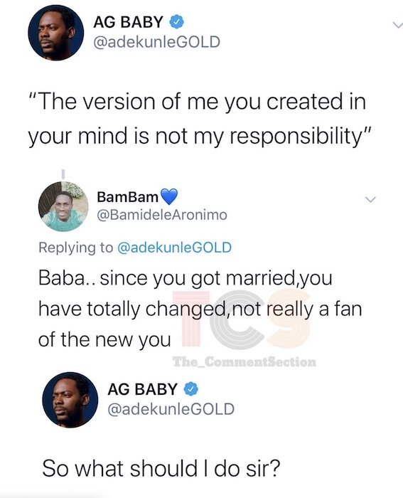 Adekunle Gold Fights Dirty With A Fan On Twitter Over This Minor Issue  Ag12