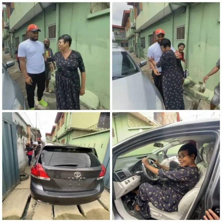 Alexx Ekubo Gifts His Mum A Car (Photos) Alex-710