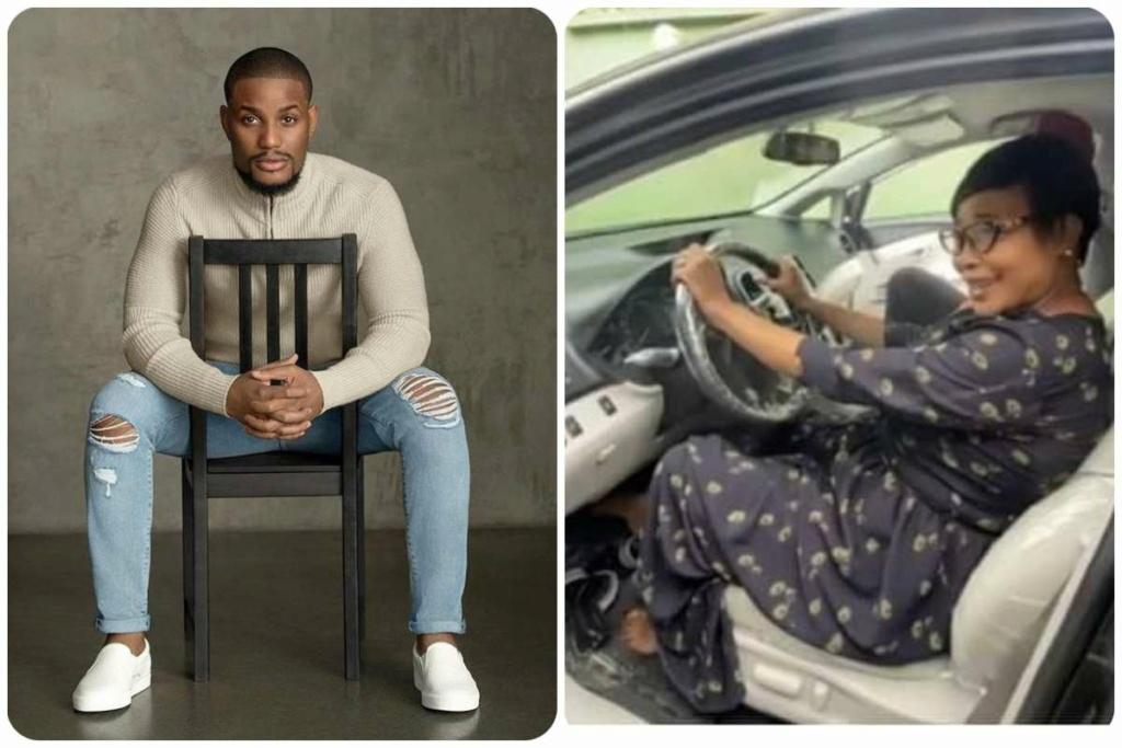 Alexx Ekubo Gifts His Mum A Car (Photos) Alex-e12