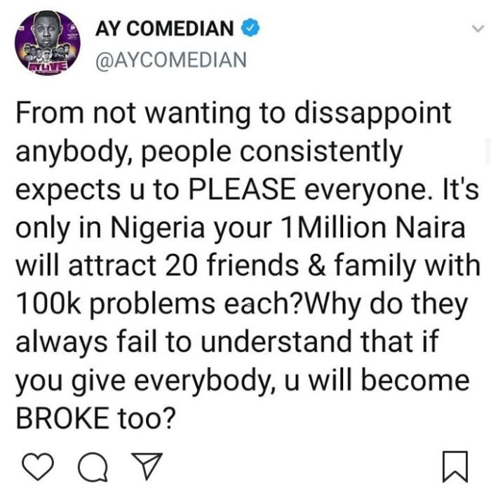 """""""If You Give Everybody, You'll Be Broke"""" – Comedian AY Drops Bombshell For Those Begging Others For Money Ay10"""