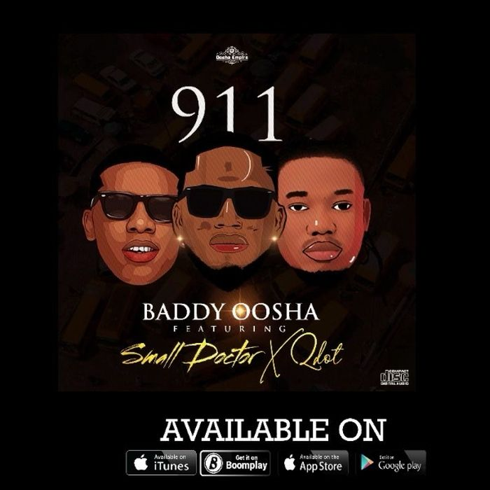 "Baddy Oosha – ""911"" Ft. Small Doctor & Qdot   9Jatechs Music Mp3 Baddy-11"