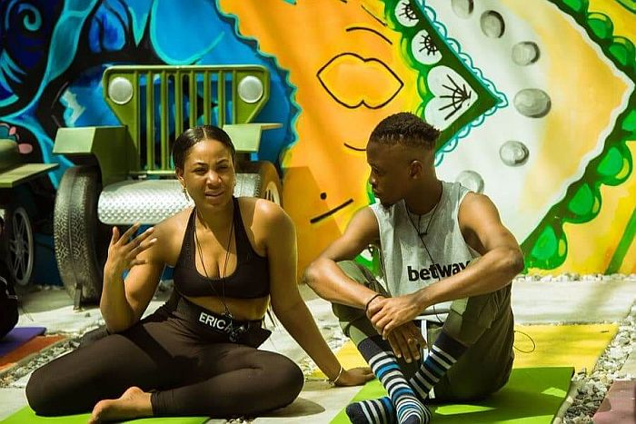 "2020BBNaija: ""If You End Up Dating Laycon I Will Still Be Here For You "" – Kiddwaya Tells Erica Bbnai113"