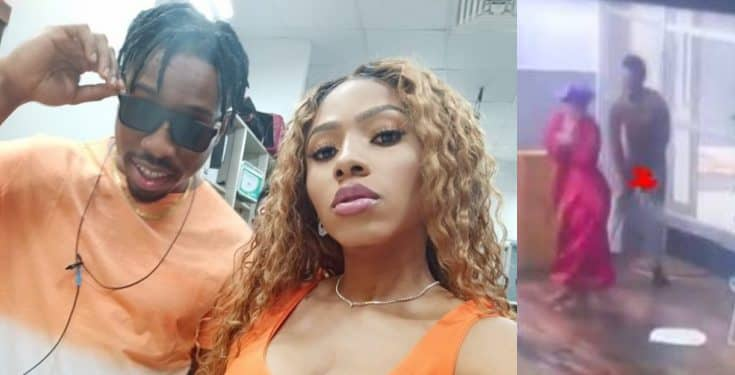 BBNaija 2019: Mercy pulls down Ike's shorts, exposes his private part (Watch Video) Bbnaij72