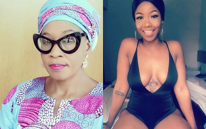 """You Are Worth A Lot Tacha, I Celebrate You""- Kemi Olunloyo Says As She Declares Herself A Titan (Video) Bbnaij96"