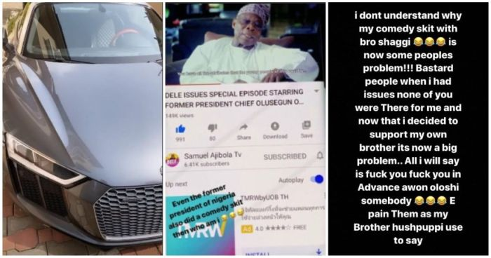 Socialite Mompha Flaunts New Ride, Trolls Friends Abusing Him For Doing Skit With Broda Shaggi Bc999c10