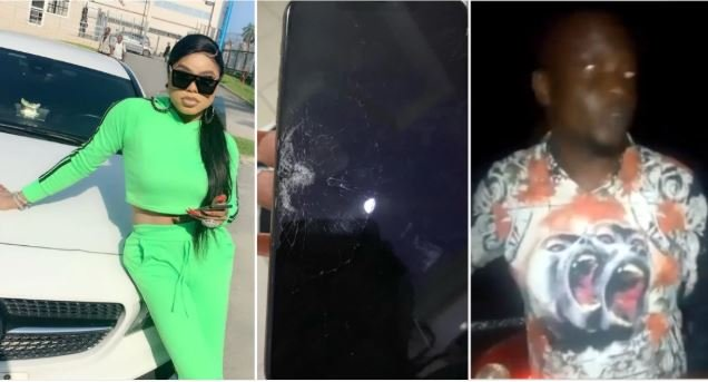 I Didn't Know He Was A Man Like Me – Man That Assaulted Bobrisky After Bashing His Car Speaks (Watch Video) Bob-312