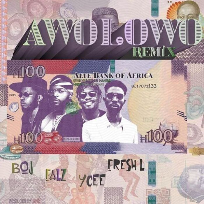 "BOJ – ""Awolowo (Remix)"" Ft. Falz, Ycee & Fresh L 