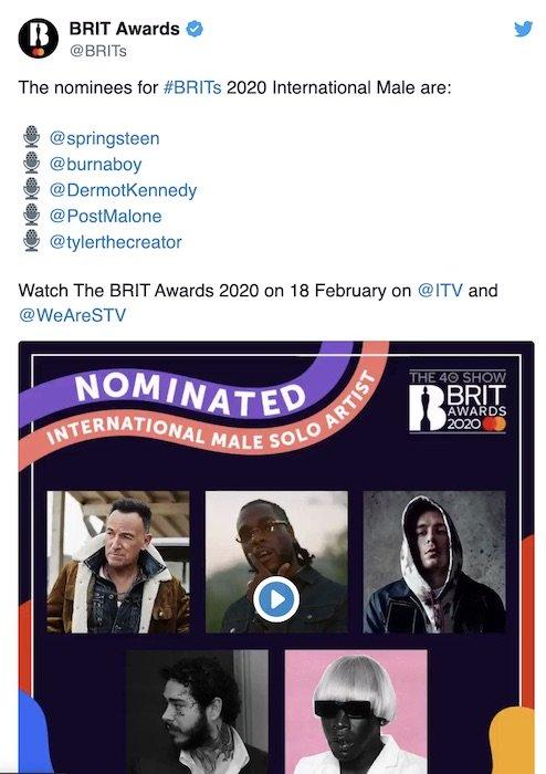 Burna Boy Nominated For Best International Male Artiste At This UK Awards (Check Details) Burna-77