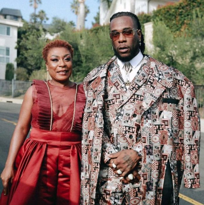 Nigerian Singer, Burna Boy Says His Mother Is Recovering From Surgery Burna131