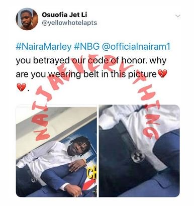 Marlian Sanctions Naira Marley For Going Against Their Code Of Conduct (Read Full Gist) Captu101