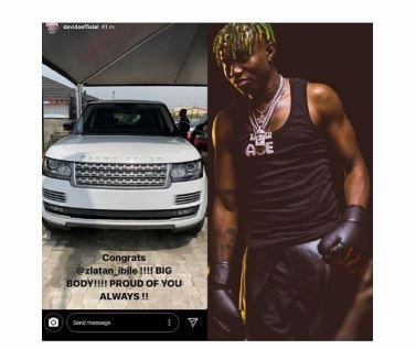 Davido Celebrates As Zlatan Buys New Range Rover Sport Captu103