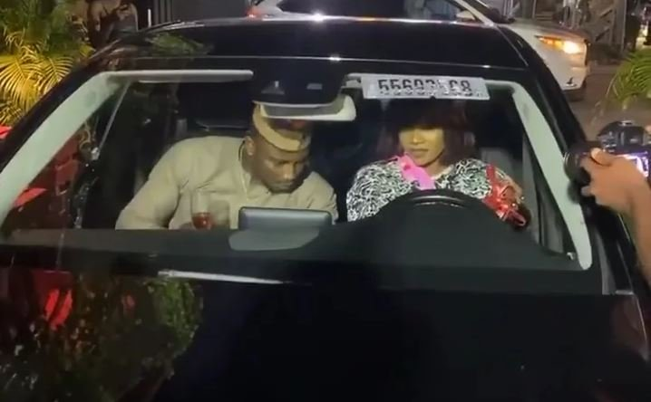 Titans Gift Tacha A Mercedes Benz On Her Birthday (Video) Captu109