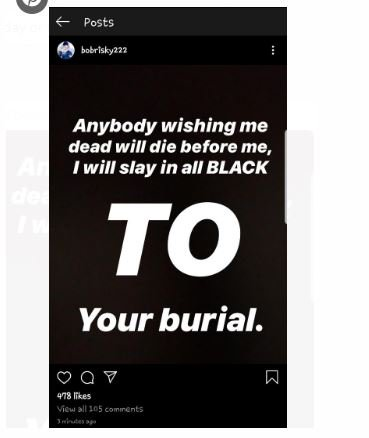 Anyone Wishing Me Dead Will Die Before Me: Bobrisky Reacts To AIT's Report Captu145
