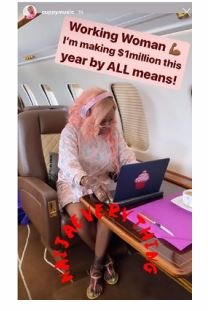 DJ Cuppy Reveals How Much She Wants To Make This Year (See Here) Captu148