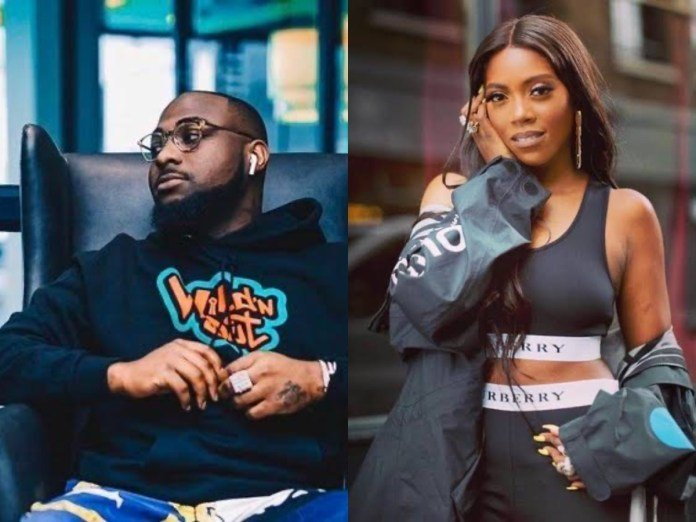 Tiwa Savage Features Davido On Upcoming Album, 'Celia' Collag14