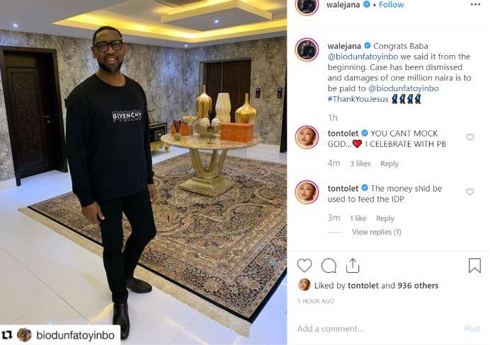 Tonto Dikeh Tells COZA Pastor What To Do With Busola Dakolo's N1 Million Fine Coza_j10