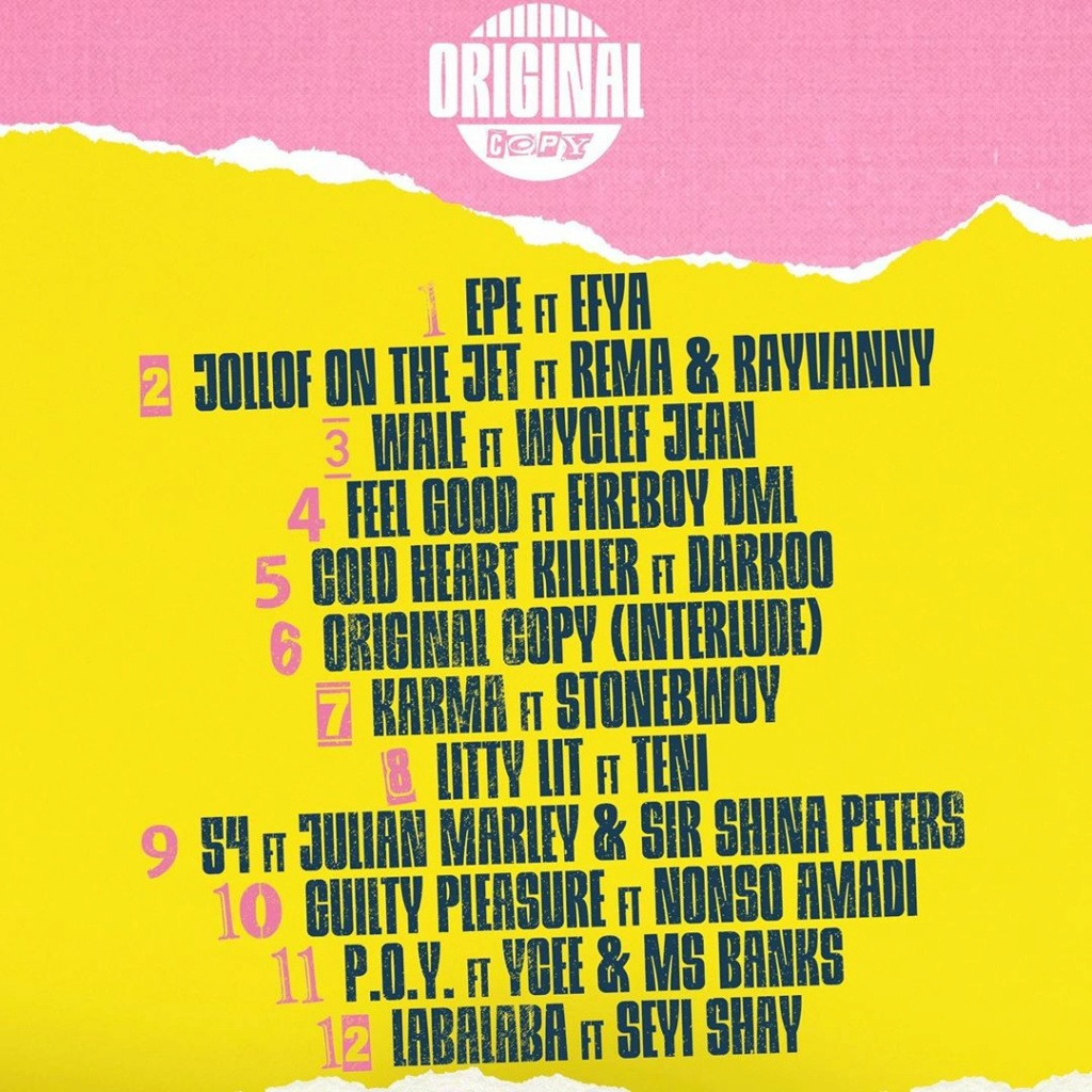 "DOWNLOAD NOW » ""Original Copy Album by DJ Cuppy"" Full Album Is Out Cuppym13"
