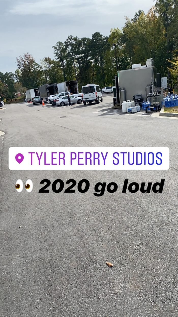 """2020 Go Loud"" – Davido Brags As He Is Spotted In The Studio With Tyler Perry Studios David172"