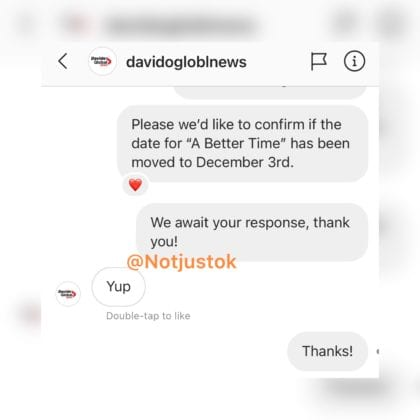 "Davido Changed The Date For His ""A Better Time "" Album Release (See New Date) David408"