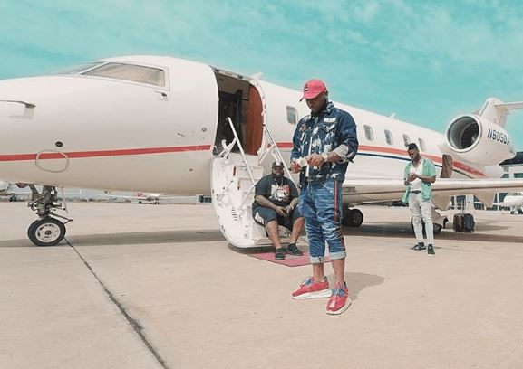 Now Davido Reveals The 'Real Owner' Of His Private Jet Davido21