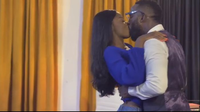 Diane Spotted Kissing Iyanya As She Features Him In Her Debut Nollywood Movie 'The Therapist' (Video) Diane-22