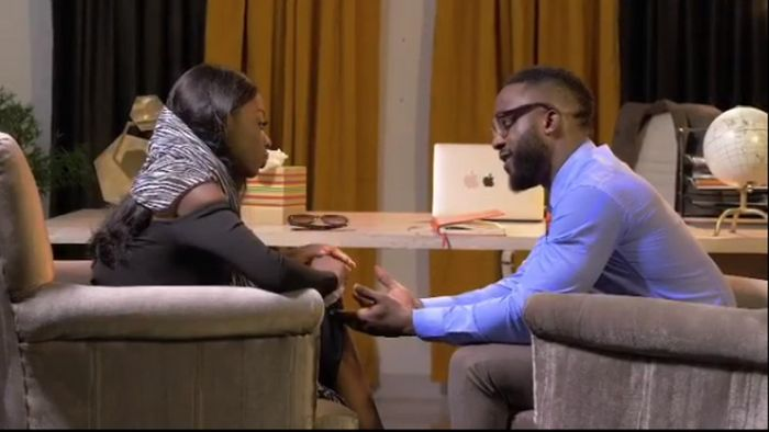 Diane Spotted Kissing Iyanya As She Features Him In Her Debut Nollywood Movie 'The Therapist' (Video) Diane15