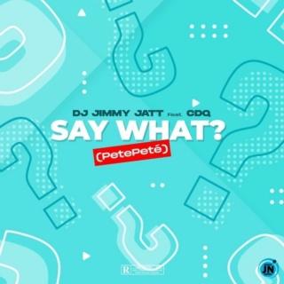 [Music] DJ Jimmy Jatt – Say What? (Pete Pete) ft. CDQ | Mp3 Dj-jim12