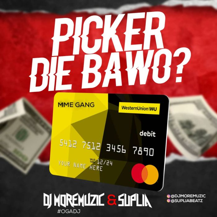 [Music] DJ MoreMuzic & Suplia – Picker Die | Mp3 Djmore10