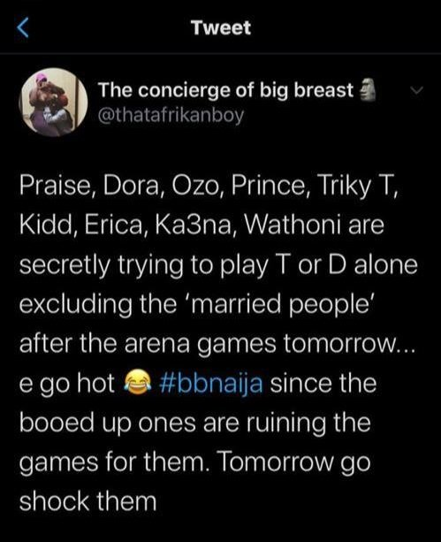 """2020BBNaija: """"If They Suck My Breasts Tomorrow, Don't Chat About It"""" – Here's Why Dora Said So Dora-b11"""