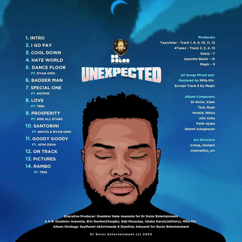 """DOWNLOAD NOW » """"Unexpected Album by Dr Dolor"""" Full Album Is Out Drdolo17"""
