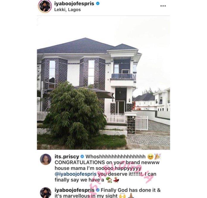 Iyabo Ojo Acquires Palatial House In Lekki (Photo) E89dea10