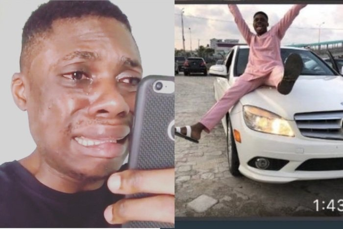 Popular Comedian, Victor Ebiye Opens Up On Buying Benz On Credit And Refusing To Pay Ebiyee11