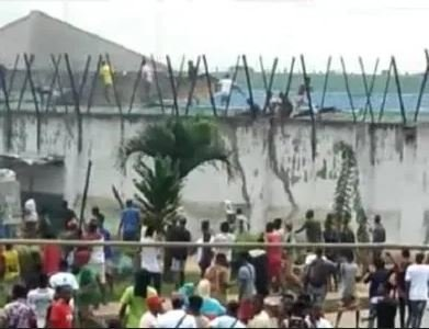 We Don't Know The Number Of Inmates That Escaped From Benin Prisons – Nigerian Correctional Service Edo-ja10