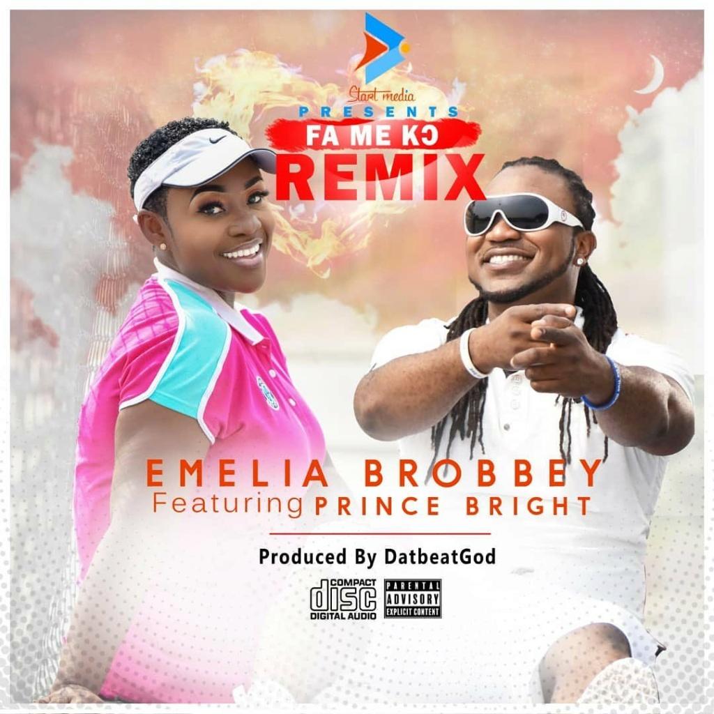 [Music] Emelia Brobbey – Fa Me Ko (Remix) ft. Prince Bright Emelia10