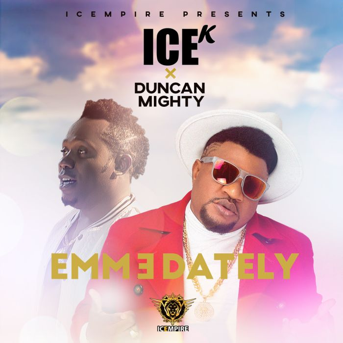 [Download Music] Emmedately by  Ice K (Artquake) Ft. Duncan Mighty  Emmeda11