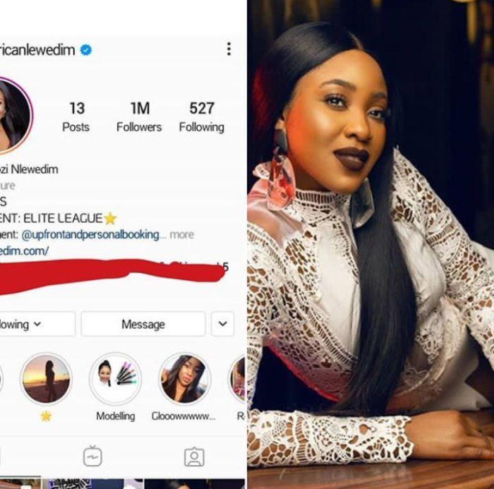 2020 BBNaija: Star Girl Erica Finally Hits 1M Followers After Battling Weeks Of Shadow Ban Erica-28