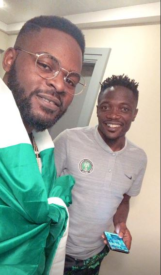 Falz Pictured With Ahmed Musa Ahead Argentina Clash (See Photos) Falz-310