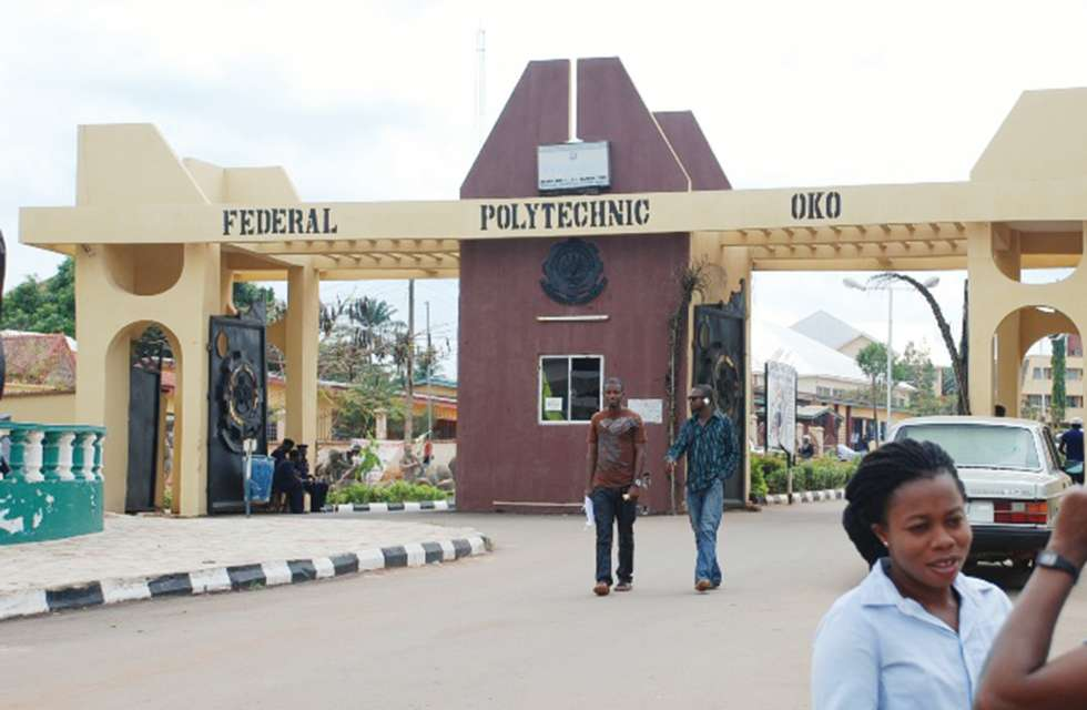 2018/2019 Federal Polytechnic Oko (OKOPOLY) HND Admission List  Fed-po10