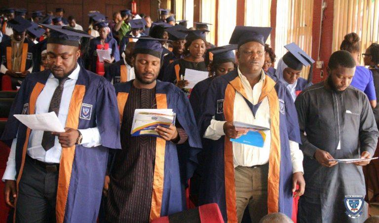 Federal University Lokoja (FULOKOJA) Matriculates 156 Postgraduate Diploma Students Federa23
