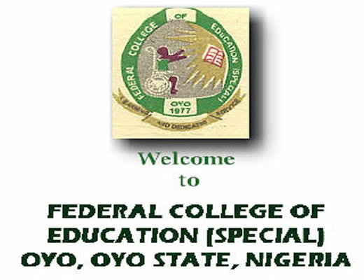 2018/2019 Federal College of Education (Special) Oyo Third/Final Round Post UTME Form  Federa24