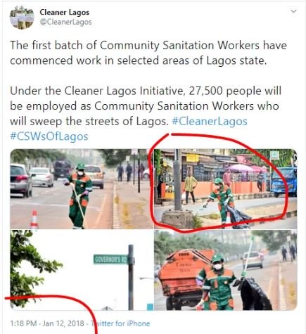 New Details Emerge On Viral Photo Of Funke Akindele Cleaning The Streets As Punishment Fhdg10