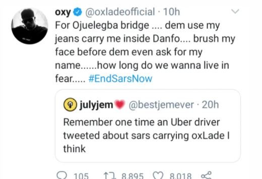 Singer Oxlade Narrates His Experience With SARS Fk-kv10