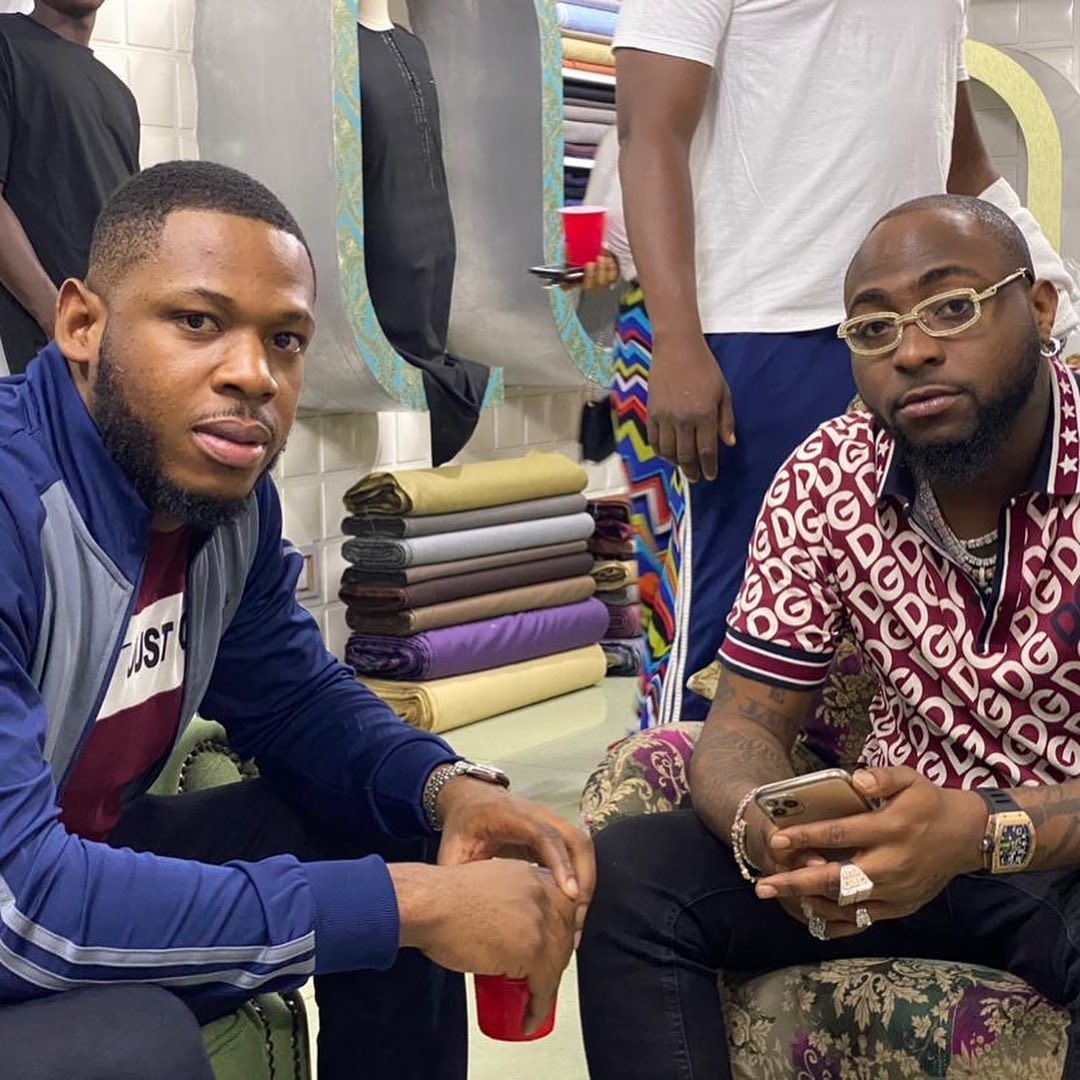 BBNaija Star, Frodd Hangs Out With Davido In Abuja (See Photo) Fresh_11