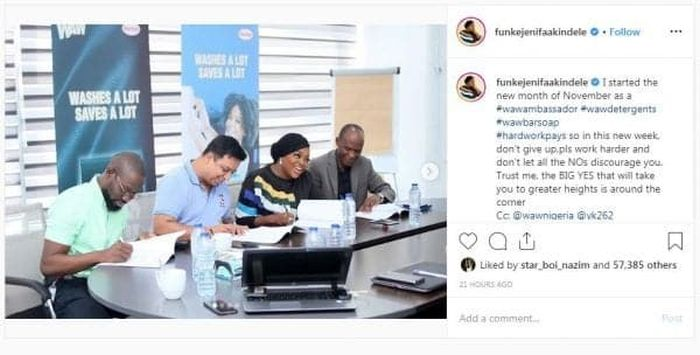 Actress Funke Akindele Bags New Endorsement Deal (See Photos) Funke-18