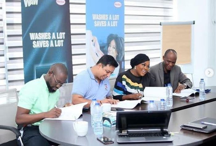 Actress Funke Akindele Bags New Endorsement Deal (See Photos) Funke-19