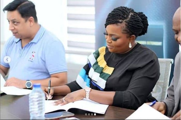 Actress Funke Akindele Bags New Endorsement Deal (See Photos) Funke-22