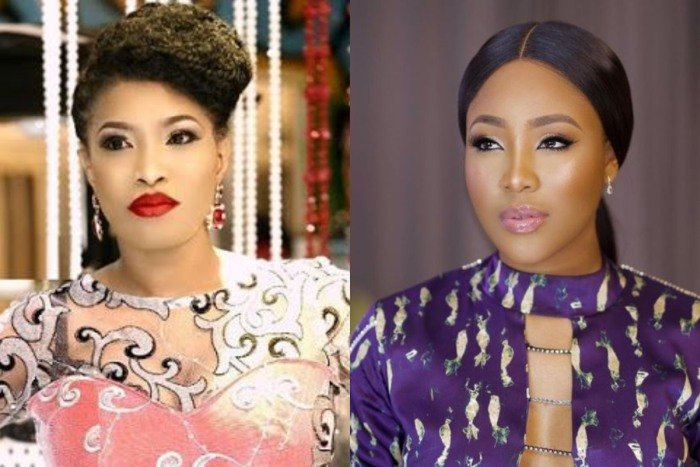 Femi Kuti's Wife, Funke Blesses BBNaija Star Erica For Feeding Her Fans (Photo) Funke-39