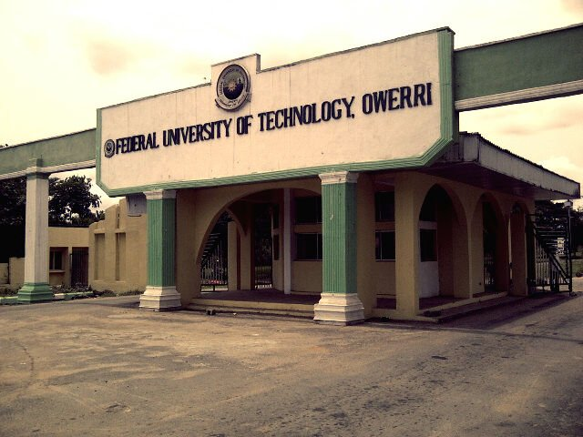 2018/2019 Federal University Of Technology, Owerri (FUTO) Supplementary Admission List Batch A  Futo11