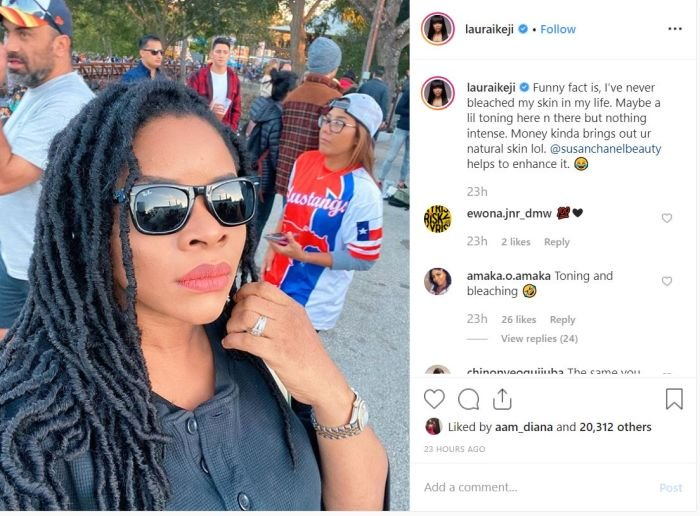 """""""I Have Never Bleached My Skin In My Life"""" – Laura Ikeji Fwe_110"""